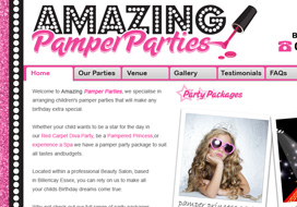 Amazing Pamper Parties