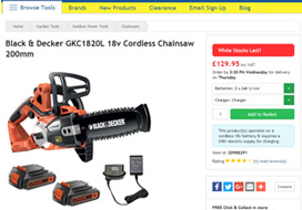 Tooled-Up Product Page